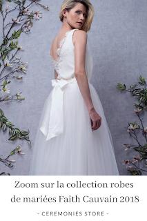 robes de mariées faith cauvain 2018 blog mariage unjourmonprinceviendra26.com