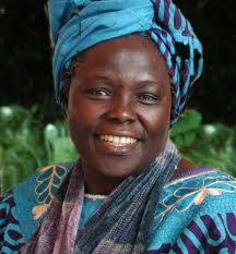 Let's raise a tree - in honour of Wangari Maathai. Unbowed to the end