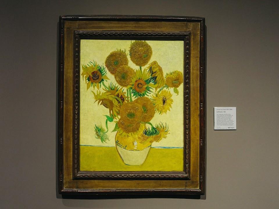 ひまわり(Sunflowers)1888年