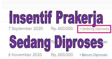 Insentif Prakerja Sedang Diproses Pantau Rekening Anda Go Bizz Com