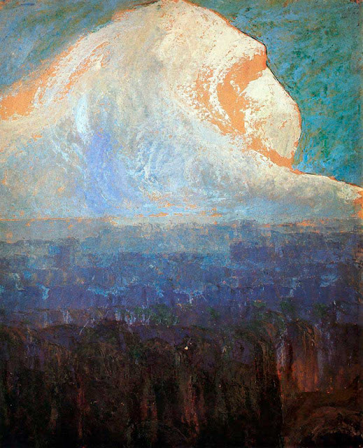 Чюрлёнис Микалоюс Константинас - Горы. 1906