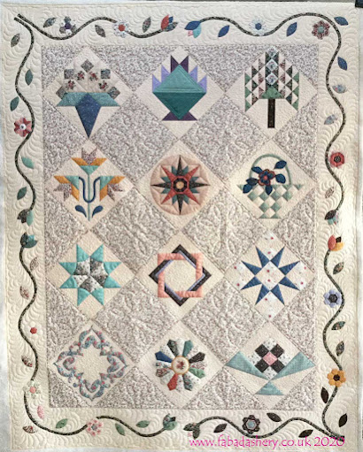 Sheila's Hierloom Sampler Quilt