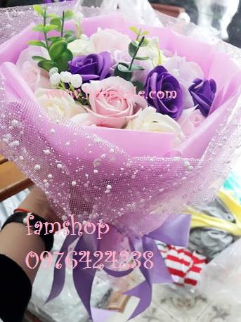 Hoa hong sap thom vinh cuu tai Dong Anh