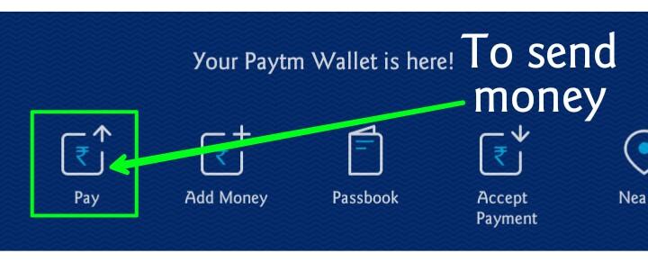 send money from paytm