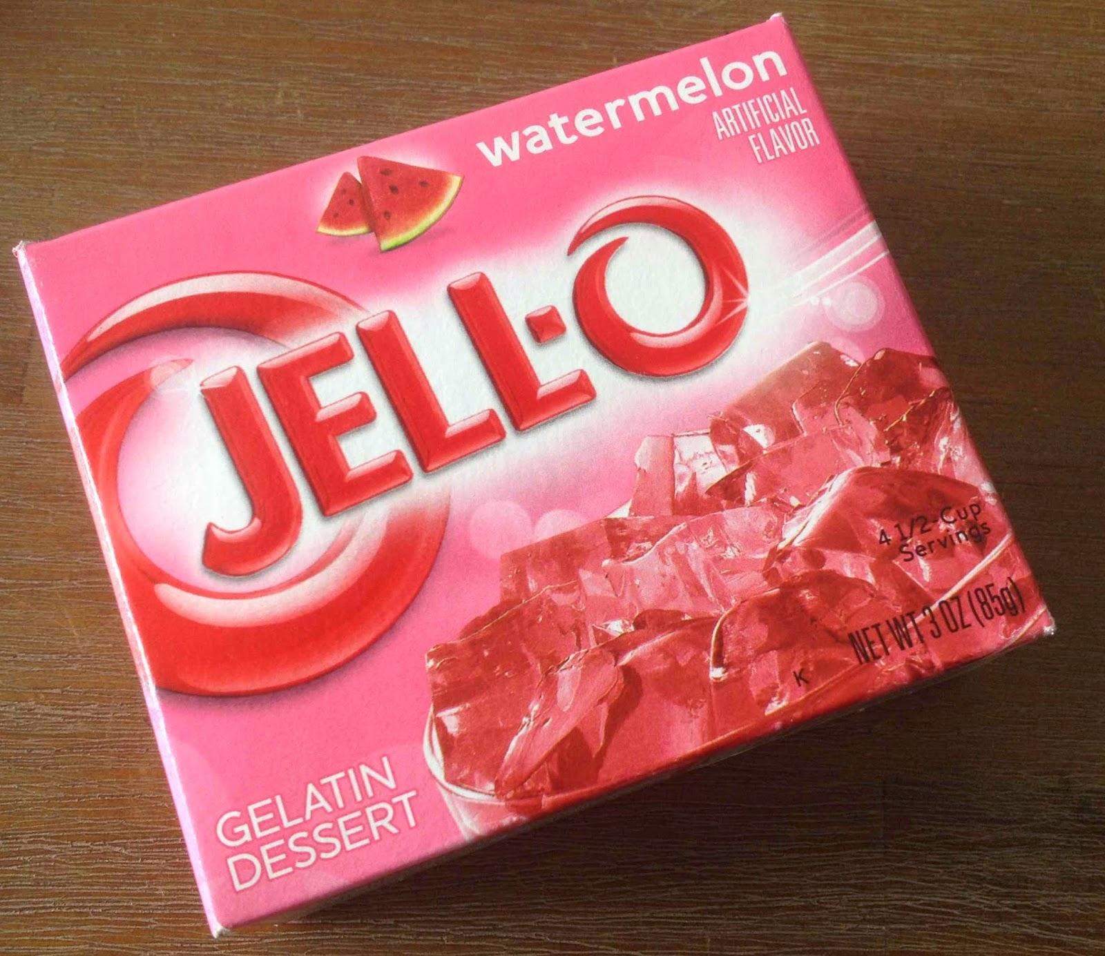 Jell-o watermelon