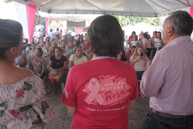 Senador Canedo: Outubro Rosa promove atendimento e conscientização sobre Câncer de Mama