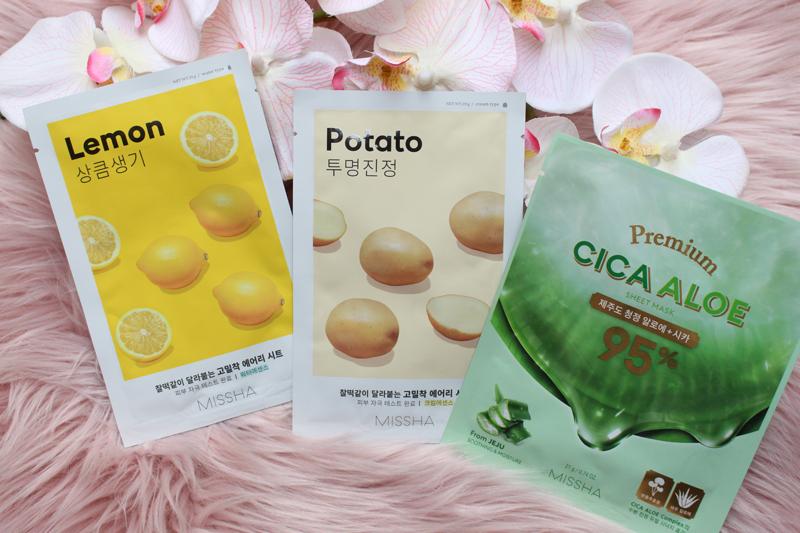 Mascarillas de patata, limón y Aloe Vera
