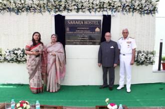 Lt. Governor of Delhi inaugurated Sahara Hostel for Veer Naris