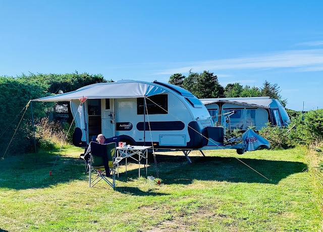 Skiveren Camping ved Tannis Bugt og Skagen