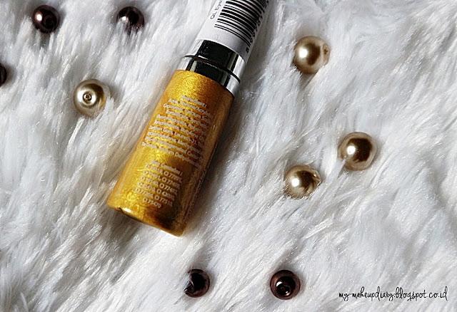 [REVIEW] QL Eyeliner Glitter in Gold