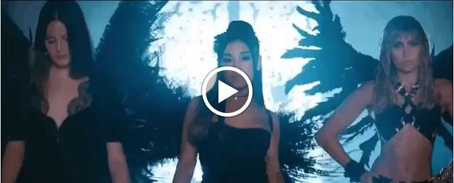 """""""Don't Call Me Angel"""", parceria entre Miley Cyrus, Lana Del Rey e Ariana Grande é lançada, junto com um clipe super empoderado."""