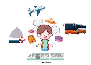Tidak hanya bersenang-senang saja, travelling juga menyehatkan