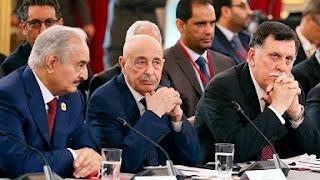 ليبيا، النزاع في ليبيا، وقف إطلاق النار، حكومة الوفاق، فايز السراج، الجنرال خليفة حفتر، حربوشة نيوز