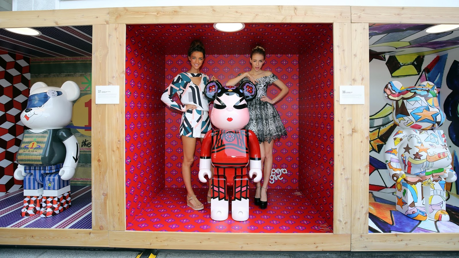 """88516324 Observe fashion, art and culture through the eyes of BE@RBRICK as they  celebrate their 15th year anniversary. Gallery by The Harbour is also  holding a """" ..."""