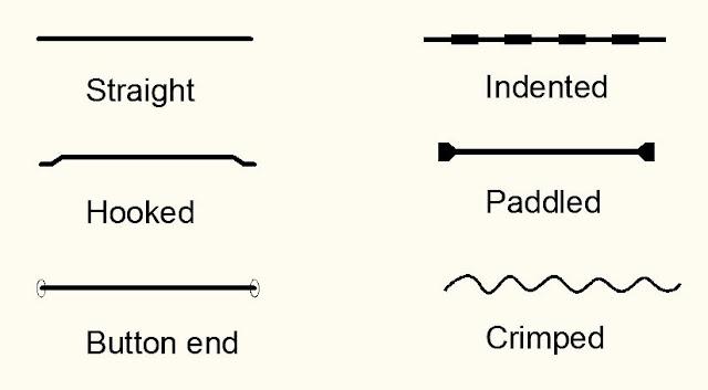 Steel fiber shapes