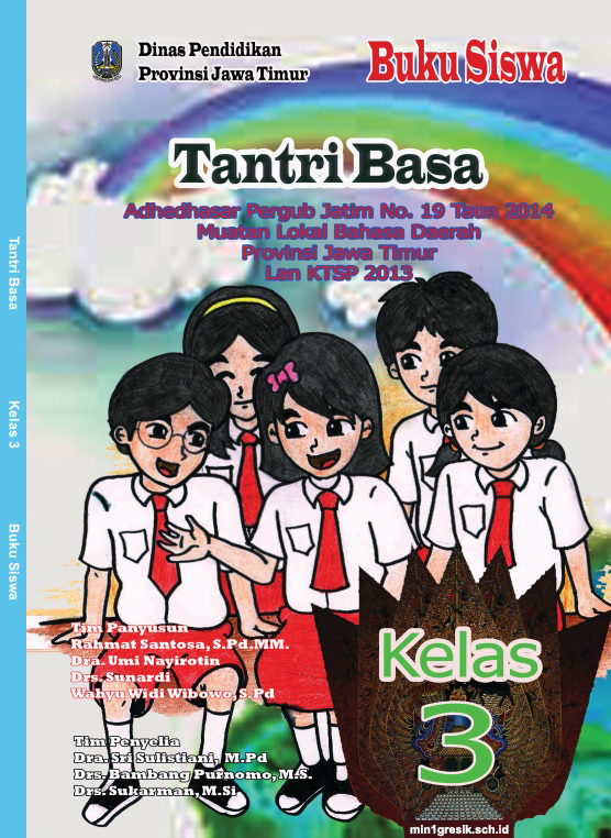 Buku Tantri Basa Kelas 3 Sd Mi Kurikulum 2013 Min 1 Gresik