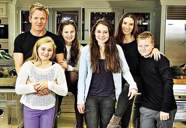 Los hijos de Gordon Ramsey no verán ni un centavo de su fortuna