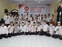 Punya Pengurus Baru di 21 Kecamatan, PKS Kota Medan Optimis Menang di 2024