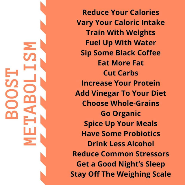17 Ways to Boost Metabolism