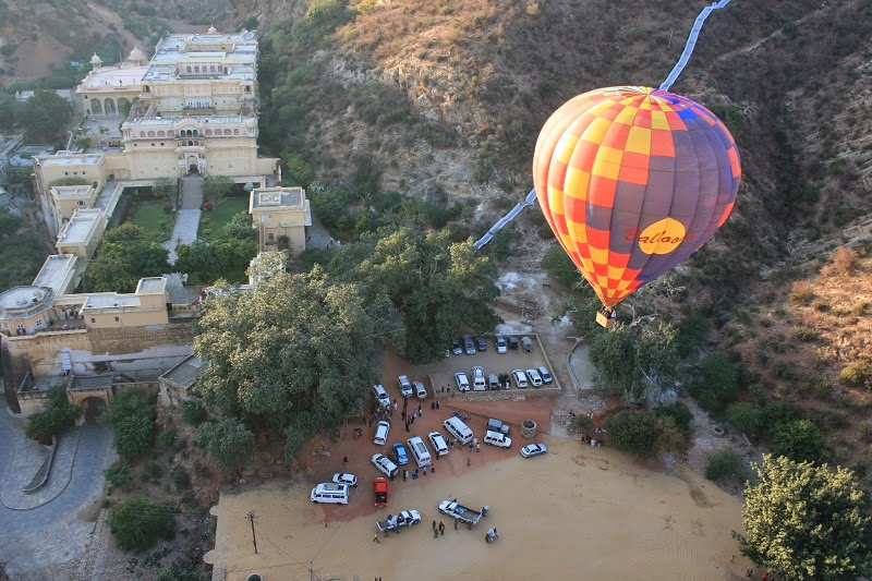 Hot Air Ballooning, Jaipur