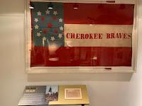 Cherokee Braves Battle Flag