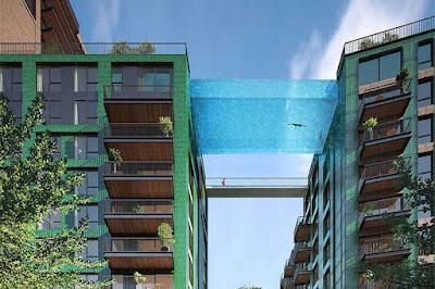 Une piscine suspendue à Arcachon !