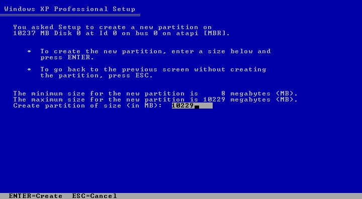 Cara Install Windows XP (Lengkap Dengan Gambar) 2