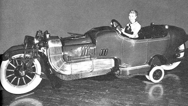 an old concept car
