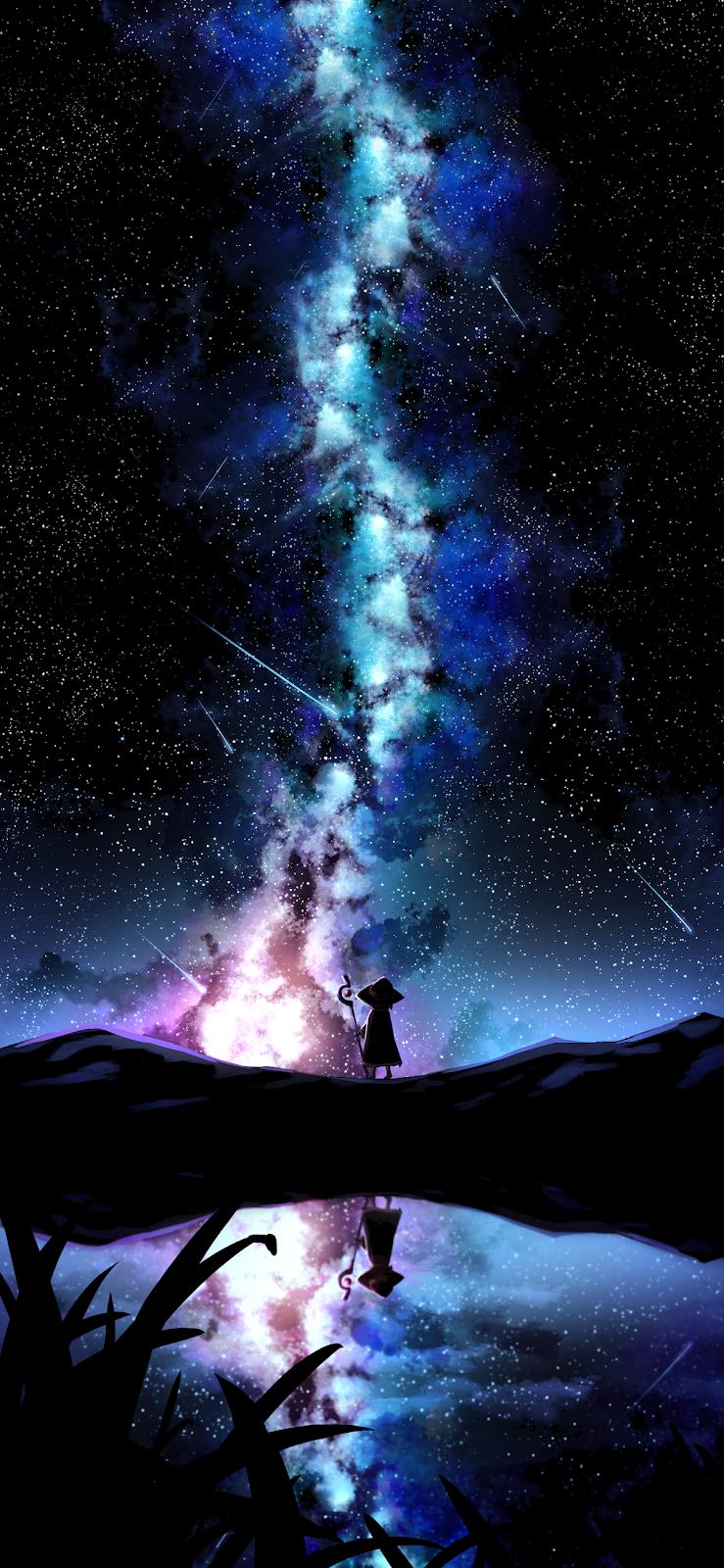 Giữa bầu trời đầy sao