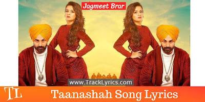 taanashah-lyrics
