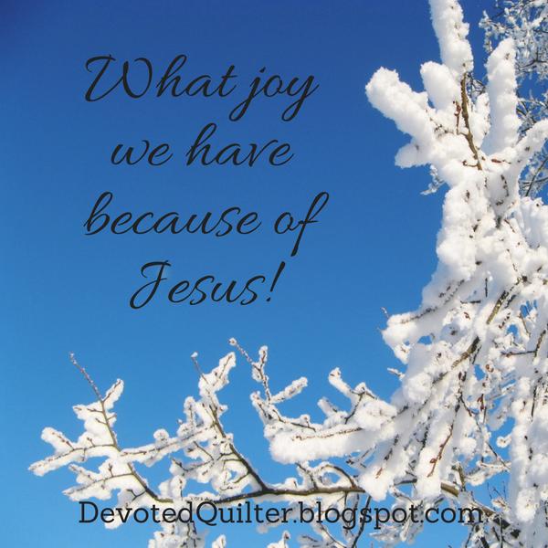 Advent devotions | DevotedQuilter.blogspot.com
