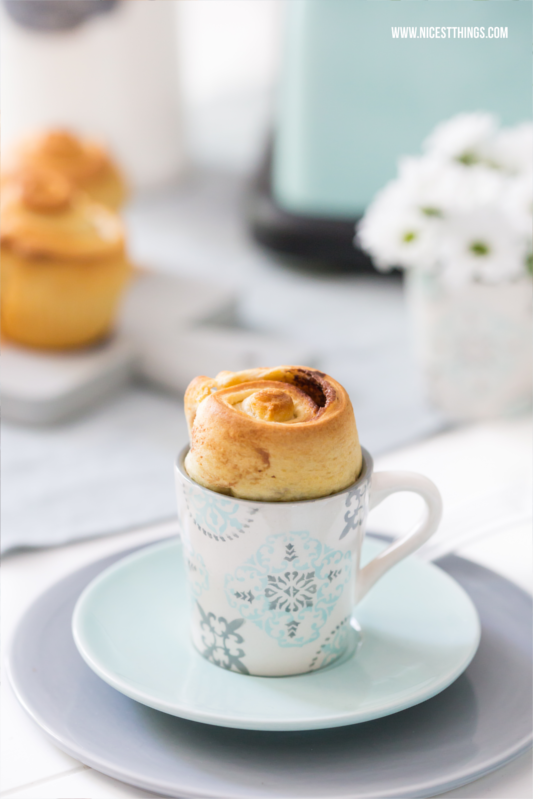 Mini Schoko Brioche in der Tasse