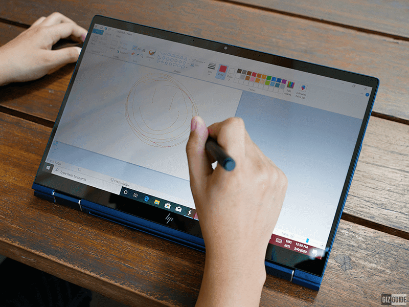 Doodle your thoughts with the rechargeable pen