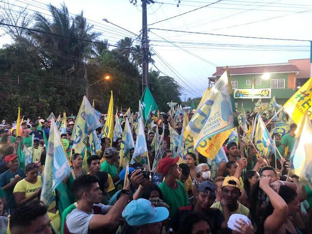 GRANDE APOIO: Multidão comparece à inauguração de Comité de OCILÉIA na Raposa