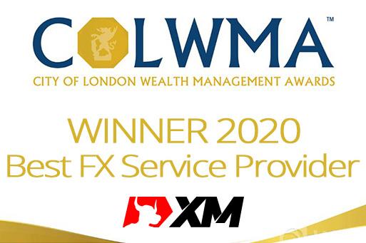 Broker XM menerima penghargaan Penyedia Layanan FX Terbaik 2020