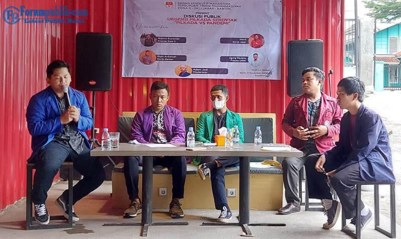 Pilkada Serentak, BEM PTM Zona III Ingatkan Penyelenggara Pemilu Harus Utamakan Protkes