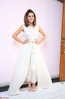 Taapsee Pannu in cream Sleeveless Kurti and Leggings at interview about Anando hma ~  Exclusive Celebrities Galleries 072.JPG