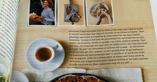 Italiaans koken met Antoinette in delicious. het Italiënummer