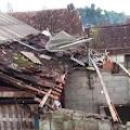 Diterjang Angin Puting Beliung, Sejumlah Rumah Warga Porak Poranda