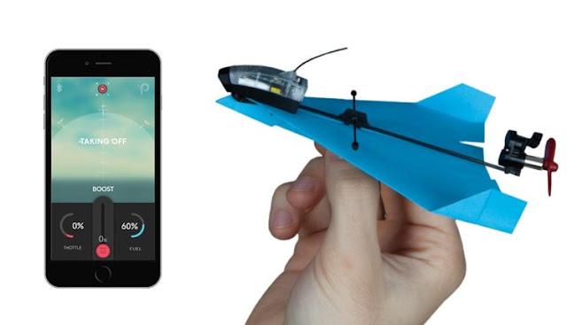 الطائرة الورقية التى يُمكن التحكم بها من الهاتف الذكي