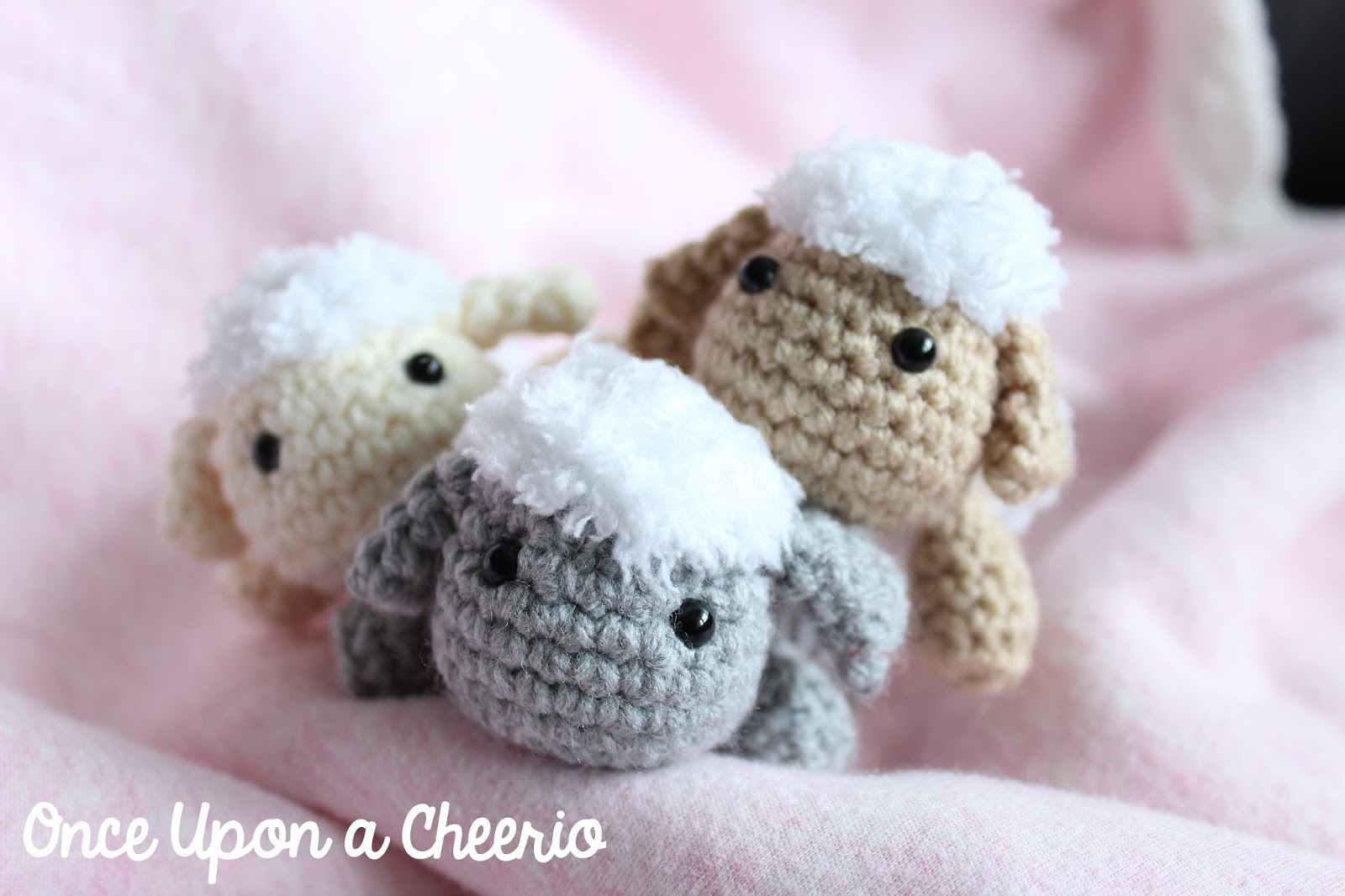 Rosemary The Lamb Crochet Pattern Once Upon A Cheerio