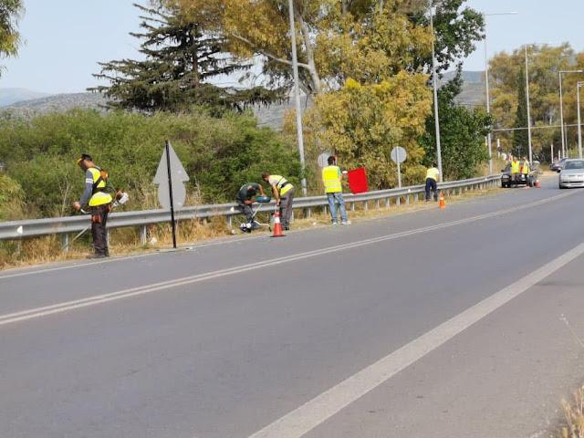 Ι. Μαλτέζος: Ολοκληρώθηκε ο καθαρισμός της εθνικής οδού Άργους- Ναυπλίου μέχρι τη ΡΕΑ