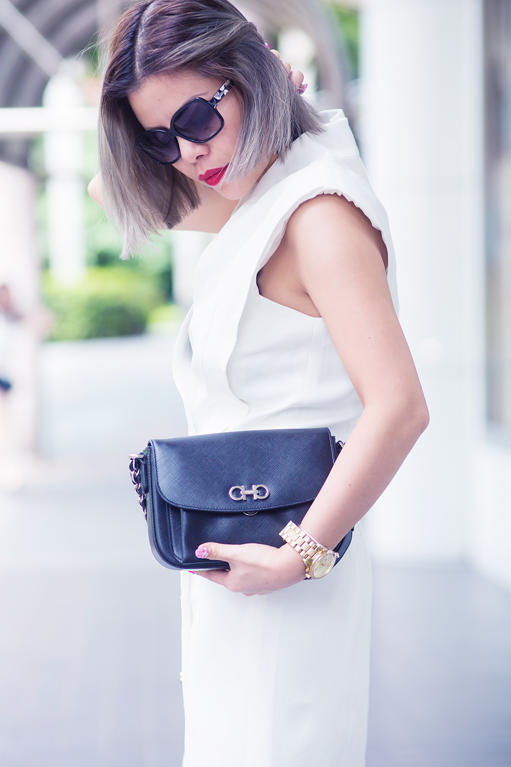 Crystal Phuong x Revolve Clothing- Total contrast