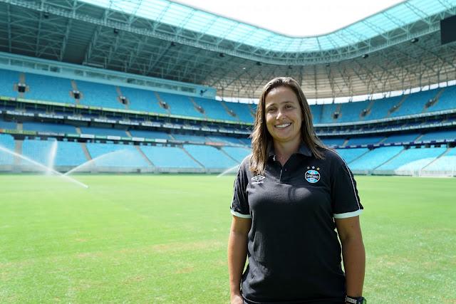 Patrícia Gusmão retorna ao Grêmio
