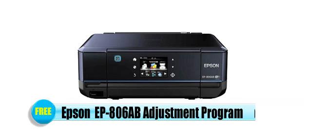 Epson EP-806AB Adjustment Program