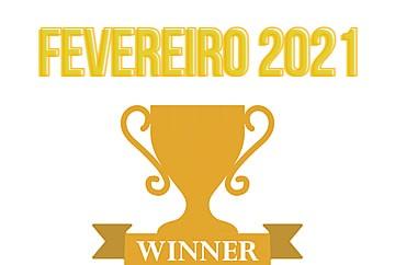 Vencedores do Sorteio de Fevereiro 2021