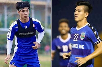 """Vòng 8 V-League """"đỏ lửa"""": Công Phượng đấu Tiến Linh, tâm điểm derby Thủ đô 21"""