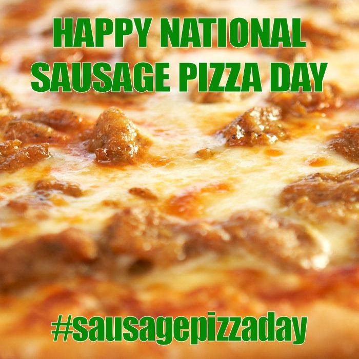 National Sausage Pizza Day Wishes Lovely Pics