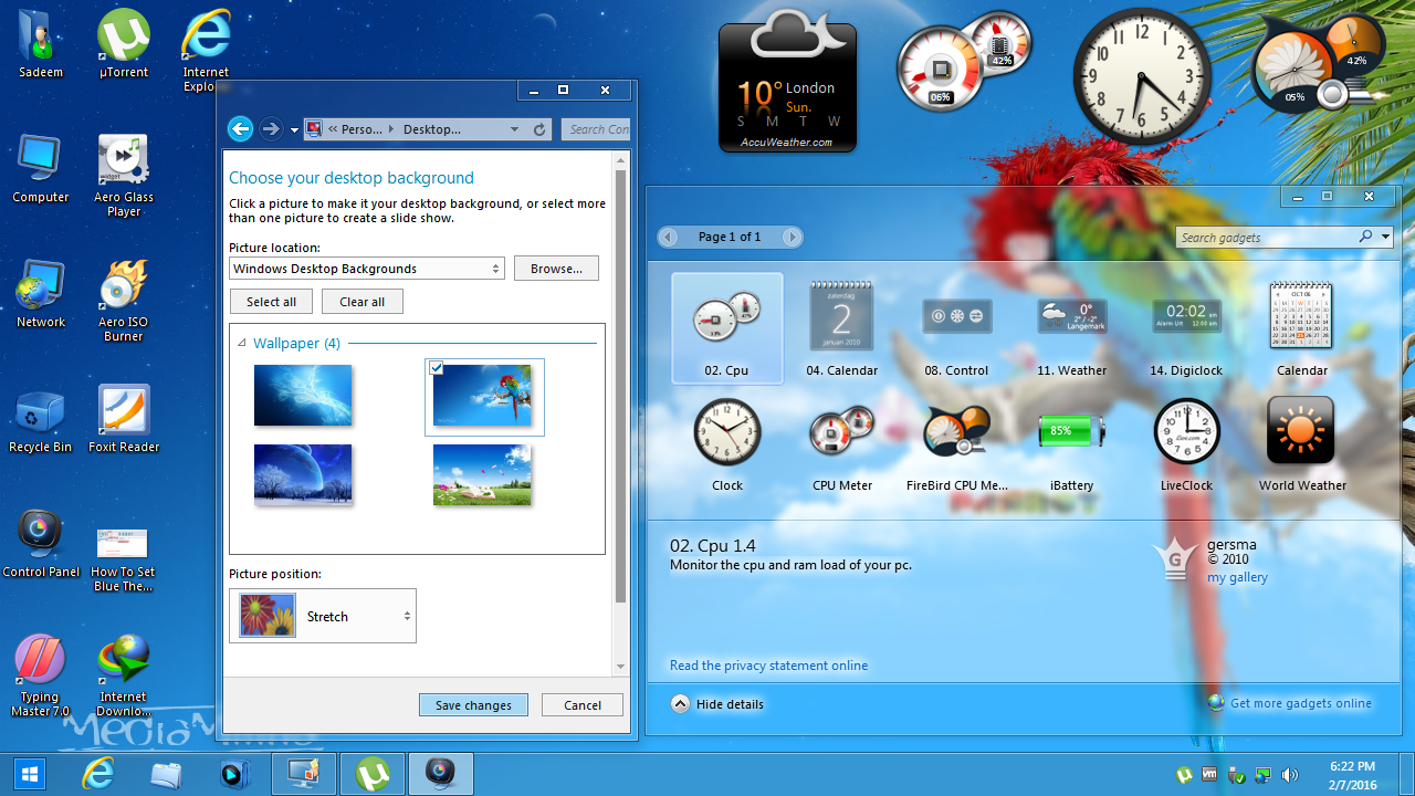 Windows 7 glass red theme for 32 and 64 bit by fares123 on deviantart.