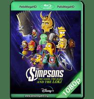 LOS SIMPSONS:EL BUENO EL BART Y EL LOKI (2021) WEB-DL 1080P HD MKV ESPAÑOL LATINO